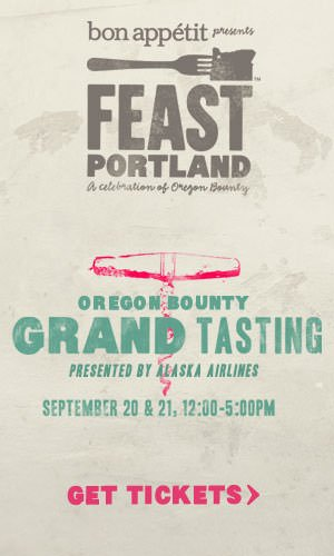 2013 Feast Portland Oregon Bounty Grand Tasting