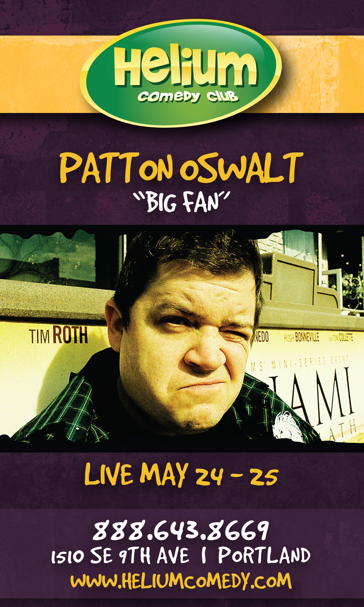 Patton Oswalt @ Helium Comedy Club