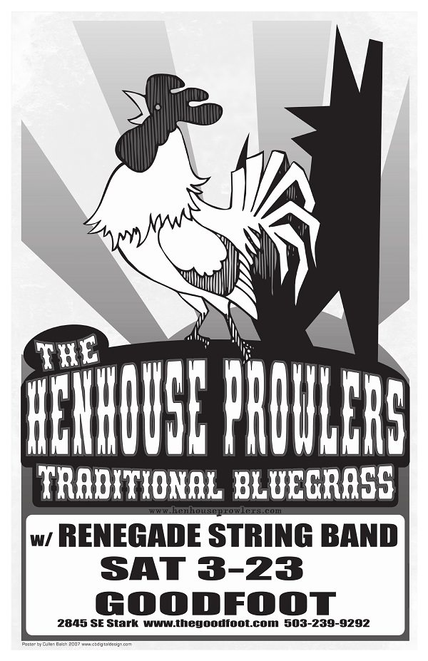 Henhouse Prowlers @ The Goodfoot