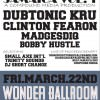 Jamaica Vol. 1 Benefit @ Wonder Ballroom