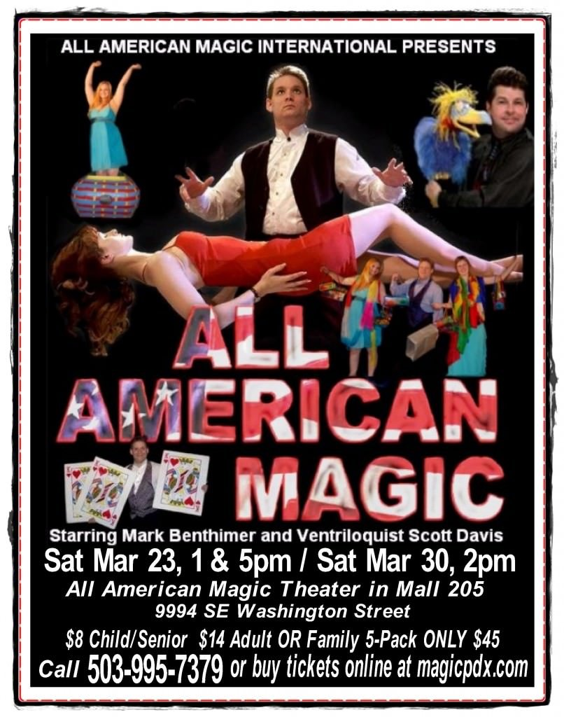 All American Magic Show Spring Break