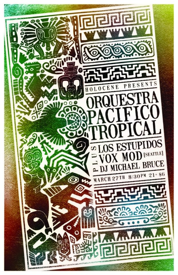 Orquestra Pacifico Tropical @ Holocene