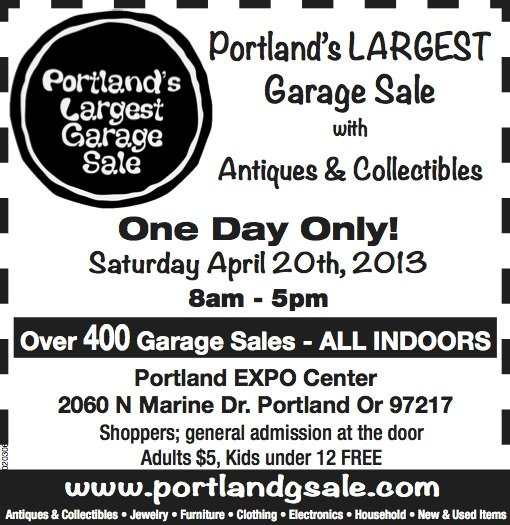 Portland Garage Sale