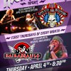 First Thursday Hair Metal @ Thirsty Lion