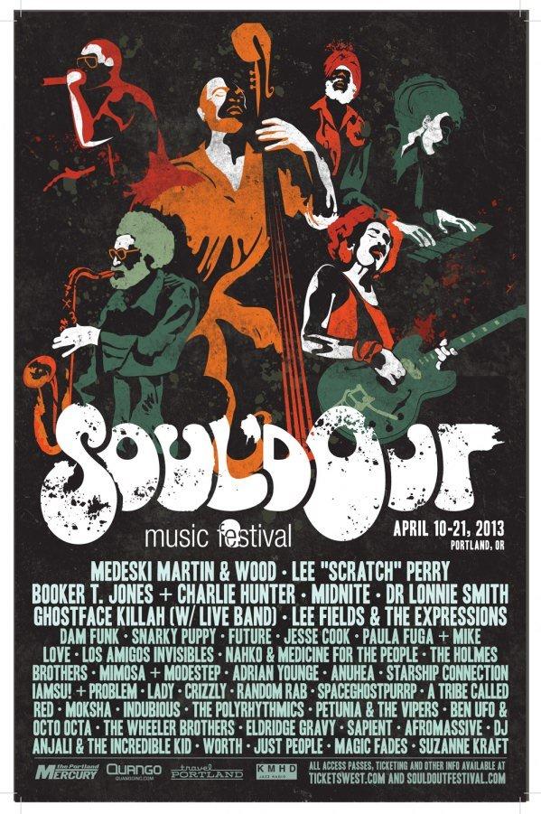 2013 Soul'd Out Music Festival