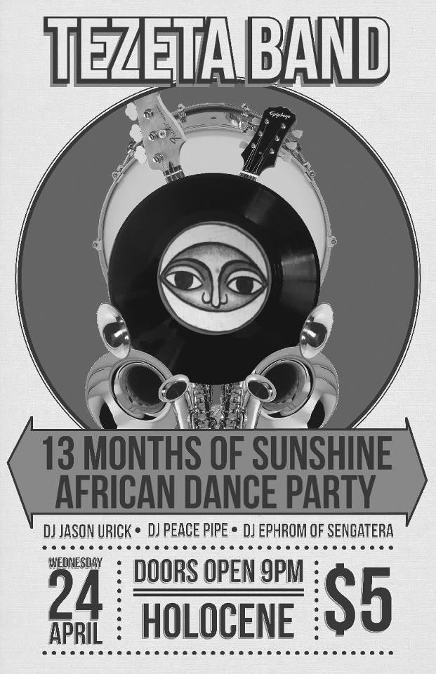 13 Months of Sunshine @ Holocene