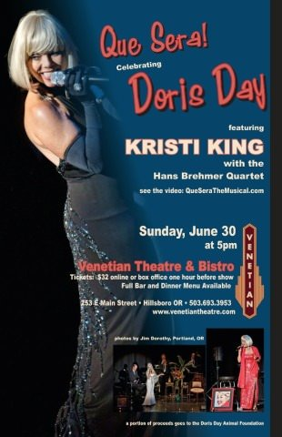 Doris Day Tribute @ Venetian Theatre