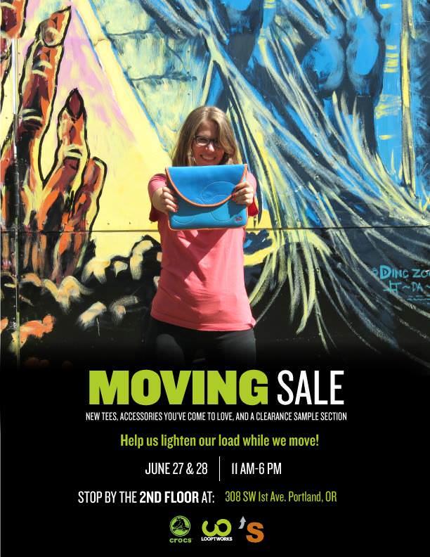 Looptworks Moving Sale