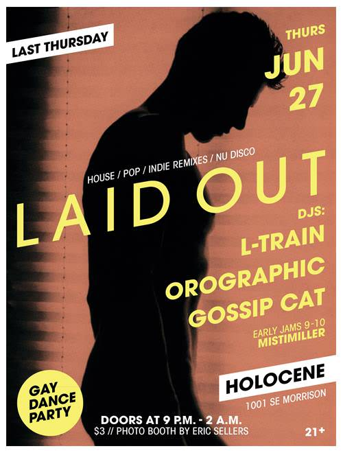 LAID OUT w/ Gossip Cat, Pocket Rock-it + Misti Miller @ Holocene