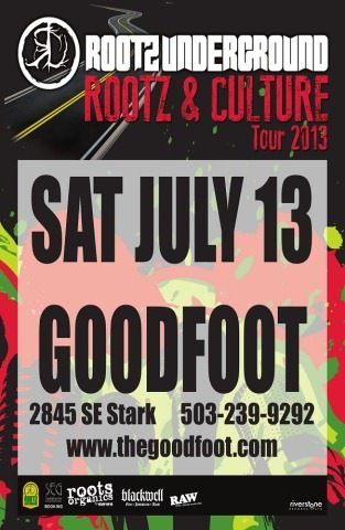 Rootz Underground @ The Goodfoot
