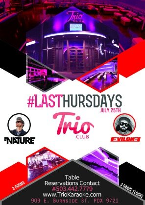 Last Thursday at TRIO Club