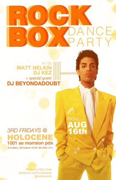 ROCKBOX: w/ DJs Matt Nelkin & DJ Kez @ Holocene