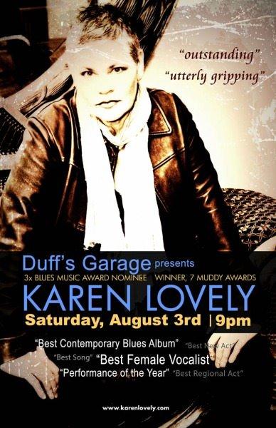Karen Lovely @ Duffs