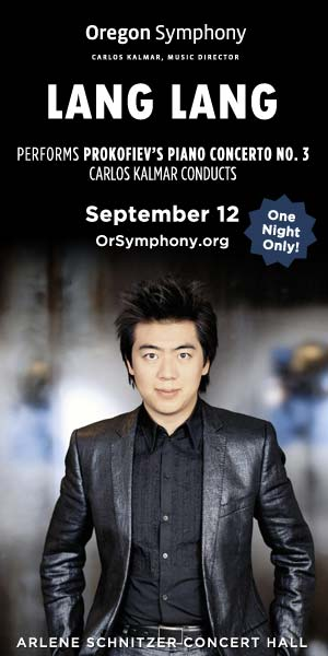 Lang Lang Plays Prokofiev @ Arlene Schnitzer Concert Hall