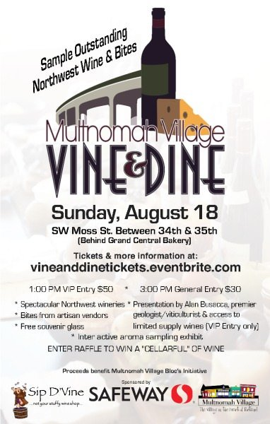 Multnomah Village Vine & Dine