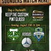 Timbers vs. Sounders @ Thirsty Lion