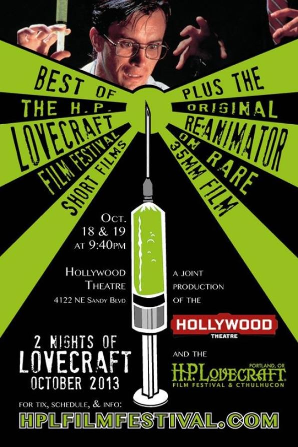 Two Nights of H.P. Lovecraft @ Hollywood Theater