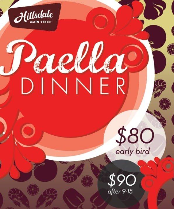 HILLSDALE PAELLA DINNER