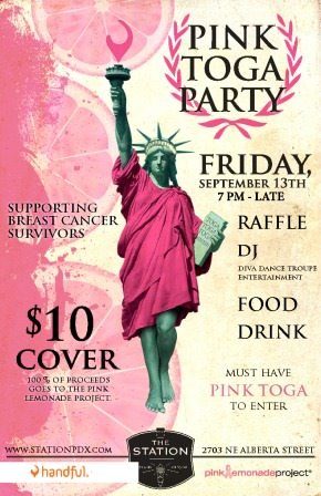 Pink Toga Party @ The Station