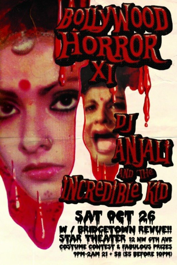 Bollywood Horror XI Halloween Costume Dance Party @ Star Theater