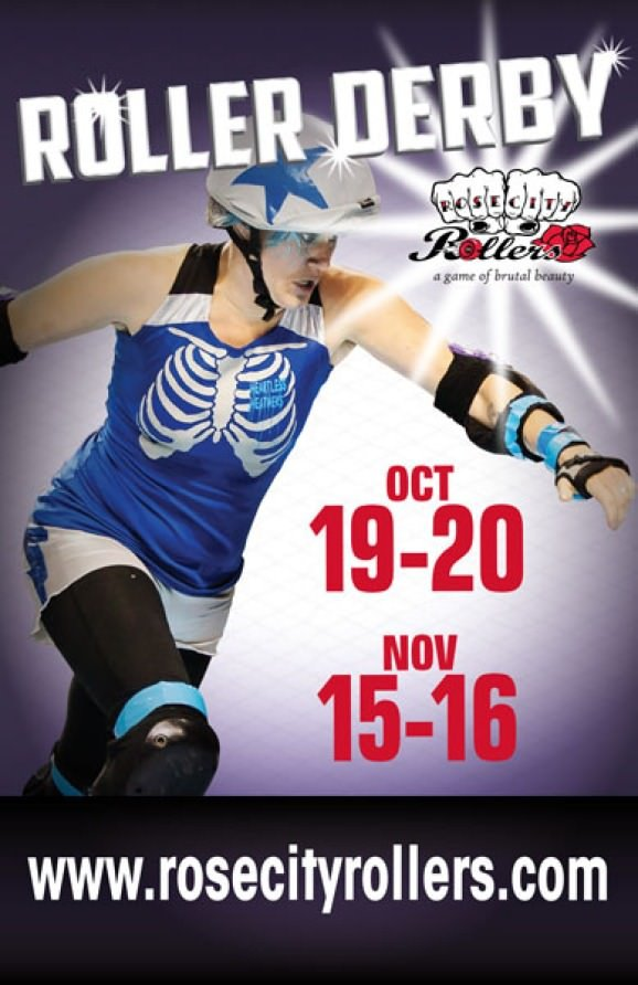 Rose City Rollers Rosebuds October 2013