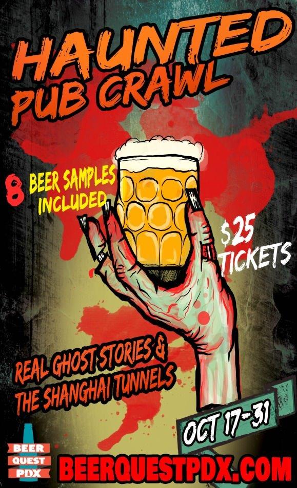 BeerQuest Haunted Pub Crawl
