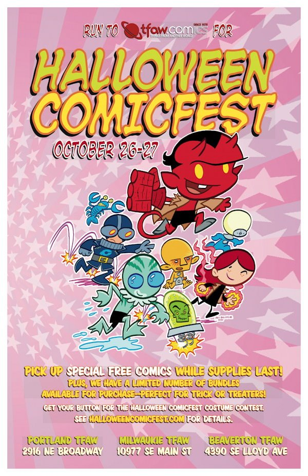 Halloween ComicFest @ Things From Another World | Deals, Free ...