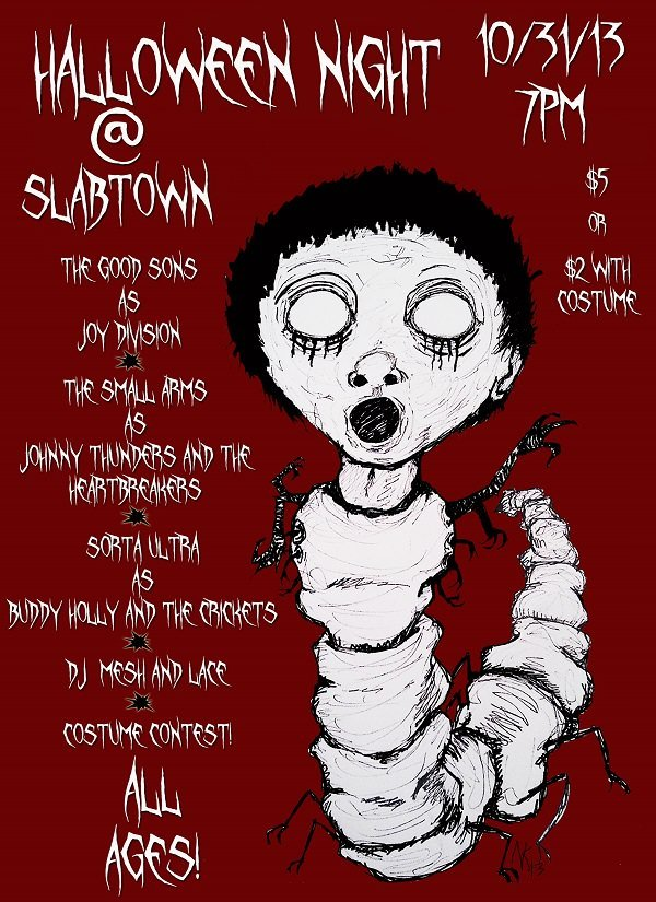 Small Arms' Second Annual All Ages Halloween Hoot and Costume Party