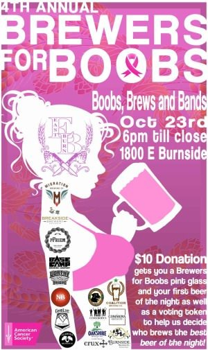 Brewers for Boobs @ EastBurn