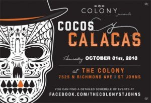 Cocos y Calacas Halloween Party @ The Colony