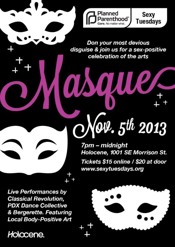 Masque: A Sex-Positive Celebration of the Arts