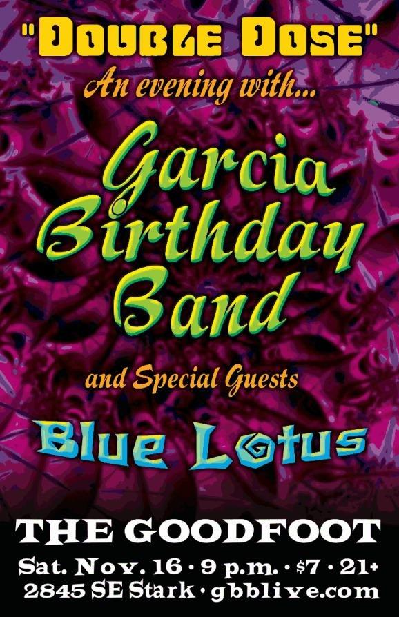 Garcia Birthday Band @ Goodfoot