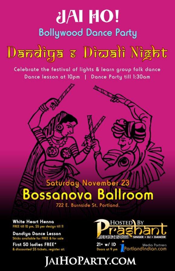 Jai Ho! Dance Partym @ Bossanova Ballroom