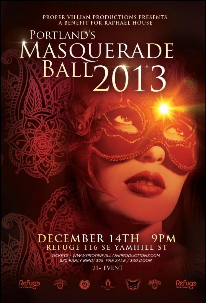 2013 Portland Masquerade Ball @ Refuge