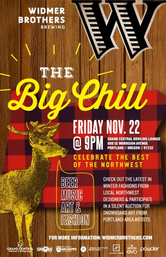 The Big Chill @ Grand Central Restaurant & Bowling