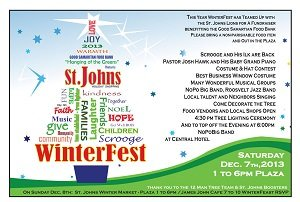 St Johns WinterFest 2013