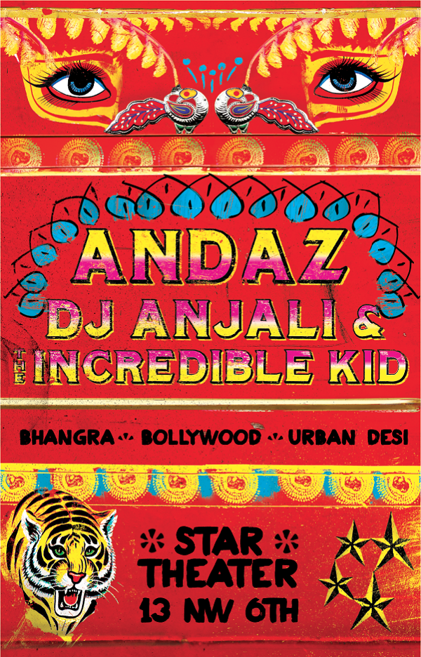 ANDAZ: Bhangra/Bollywood/Urban Desi Dance Party