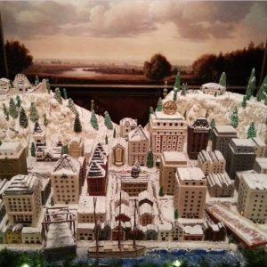 Portland Holiday / Christmas 2014 The Benson Gingerbread Masterpiece Unveiling @ Benson Hotel ...