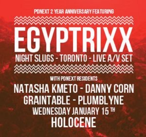 PDneXT 2-Year Anniversary @ Holocene