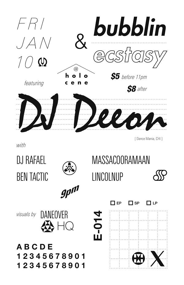 January 2014 Ecstasy @ Holocene
