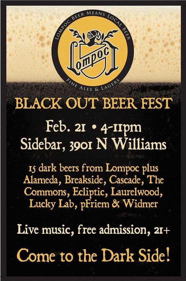Black Out Beer Fest @ Sidebar