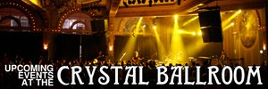 Crystal Ballroom Portland
