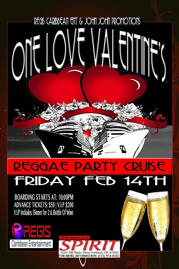 One Love Valentine's Reggae Boat Cruise