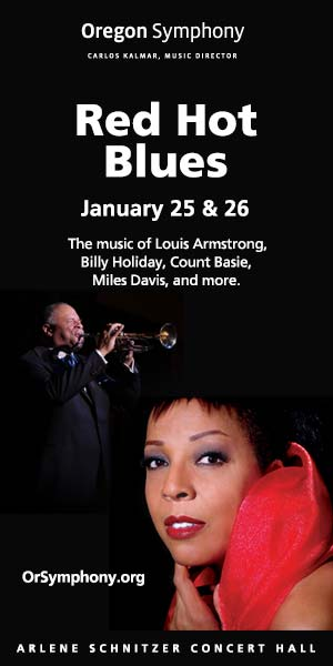 Red Hot Blues w/ Oregon Symphony  @ Arlene Schnitzer Concert Hall