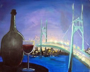 Pop & Paint St JOhns Bridge @ Kells Brew Pub