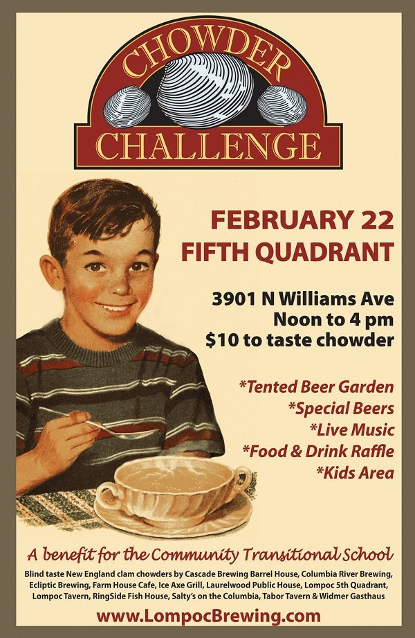 Chowder Challenge @ Lompoc's Fifth Quadrant