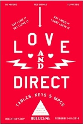 Love & Direct V-Day Edition @ Holocene