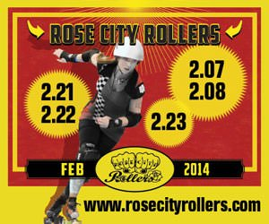 Rose City Rollers February 2014