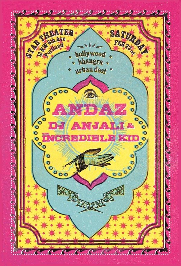 ANDAZ: Bhangra/Bollywood/Urban Desi Dance Party @ Star Theater February 2014