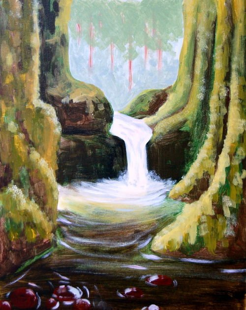 Pop & Paint Punchbowl Falls @ The Daily in the Pearl
